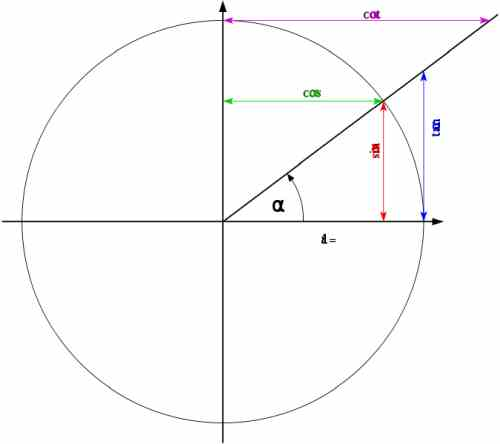 Trigonometric Functions and the Unit Circle